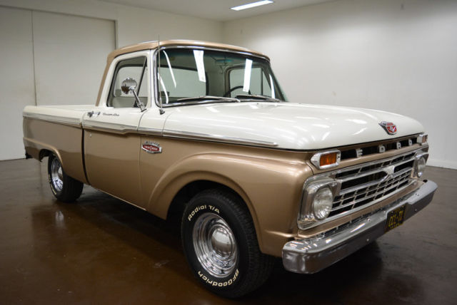 1966 Ford F-100 (Champagne/Tan)