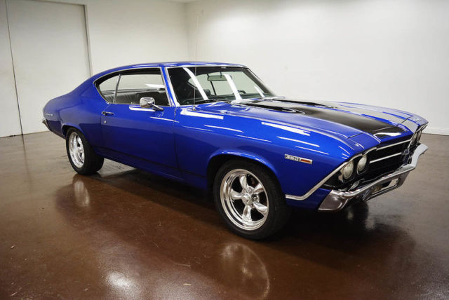 1969 Chevrolet Chevelle (Blue/Black)