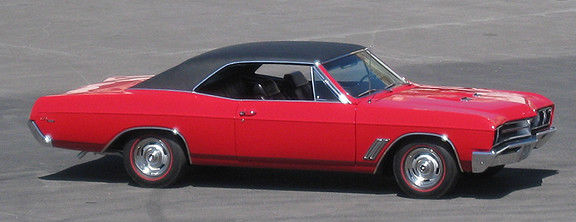 1967 Buick GS 400 (Red/Black)