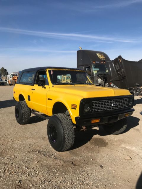 1972 Chevrolet Blazer (Yellow/Black)