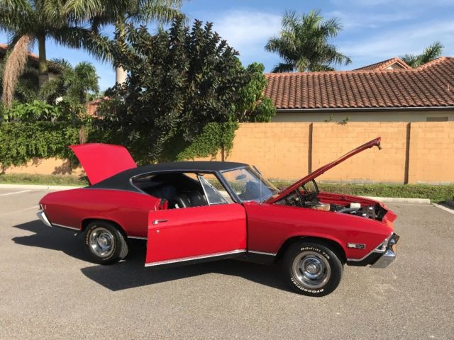 1968 Chevrolet Chevelle (Red/Black)