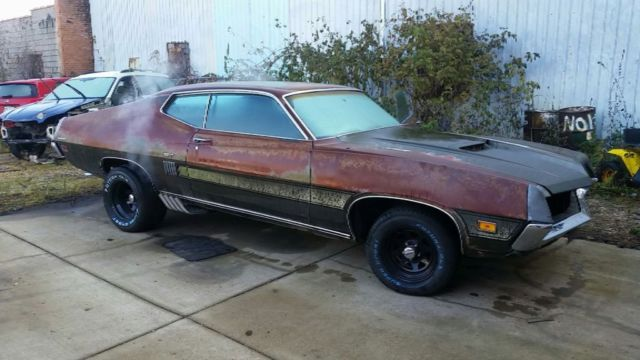 1970 Ford Torino (Green/Black)