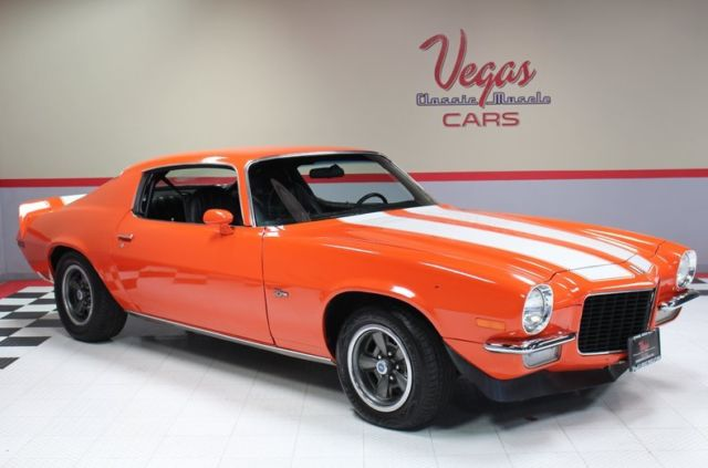 1973 Chevrolet Camaro (Orange/Black)