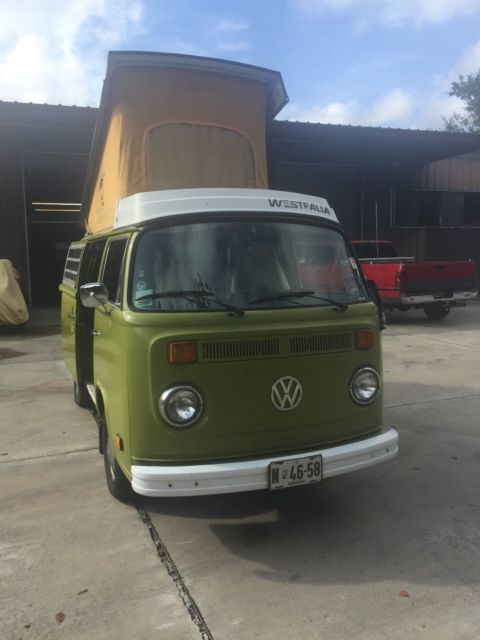 1977 Volkswagen Bus/Vanagon (Green/plaid)