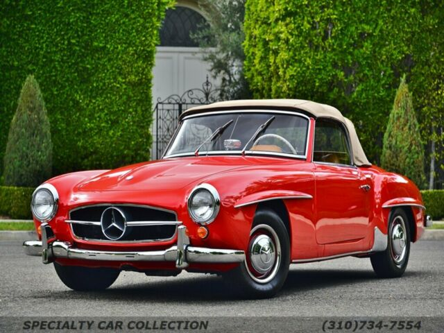 1961 Mercedes-Benz SL-Class (Orange/Brown)