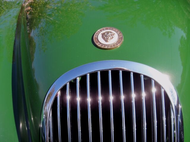 1954 Jaguar XK (British Racing Green/Suede Green)
