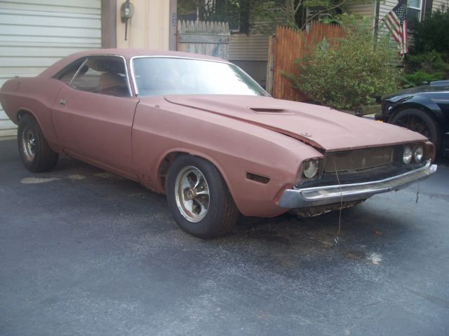 1970 Dodge Challenger (Orange/Black)