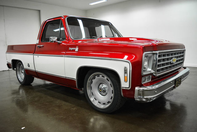 1976 Chevrolet C-10 (Red/Brown)