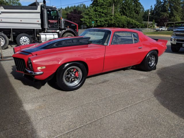 1970 Chevrolet Camaro (Red/Black)