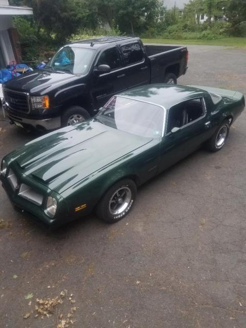 1976 Pontiac Firebird (Green/Black)