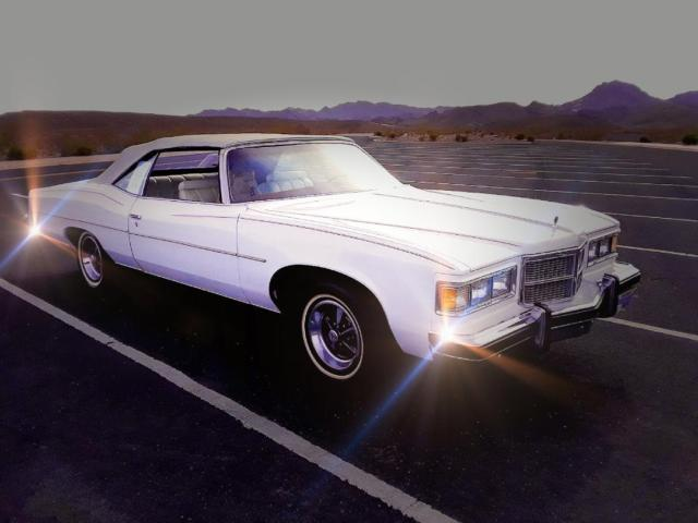 1975 Pontiac Grandville (White/White Leather)