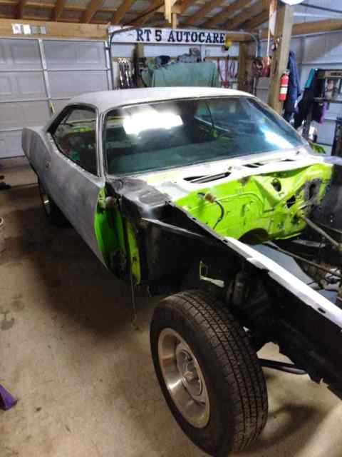 Seller of Classic Cars - 1973 Plymouth Barracuda (Primer