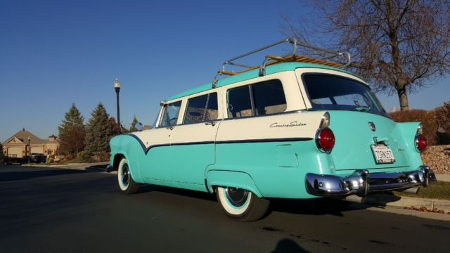 1955 Ford Country Sedan (Teal/Teal)