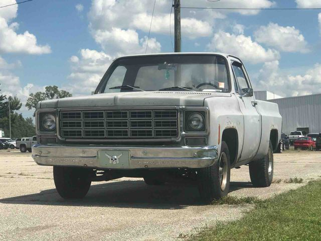 1977 GMC Sierra 1500 (Gray/Black)