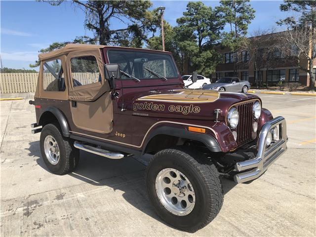1979 Jeep CJ (Burgandy/Tan)
