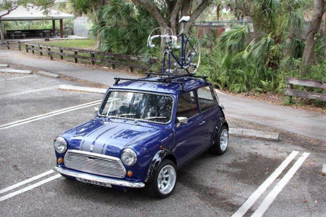 Seller Of Classic Cars 1977 Mini Classic Mini Blue Black