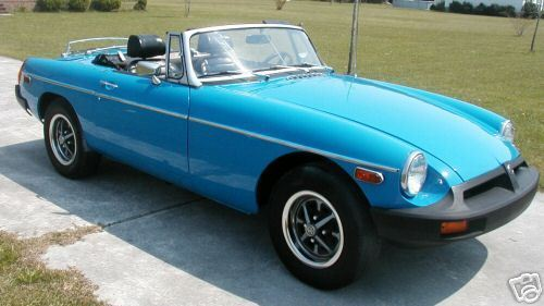 1979 MG MGB (Blue/Black)