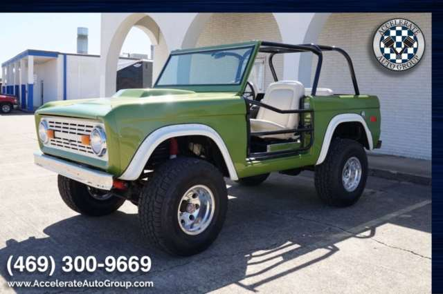 1971 Ford Bronco (Green/White)