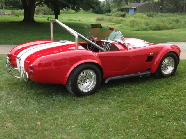 1966 Cobra Custom (Red/Tan)