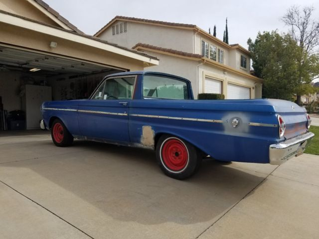 1965 Ford Ranchero (Blue/Black)