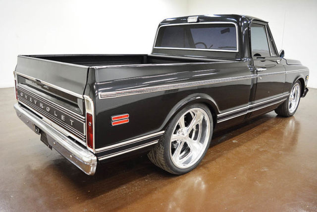 Seller of Classic Cars - 1972 GMC C-10 SWB LS Swap (Black/Black)