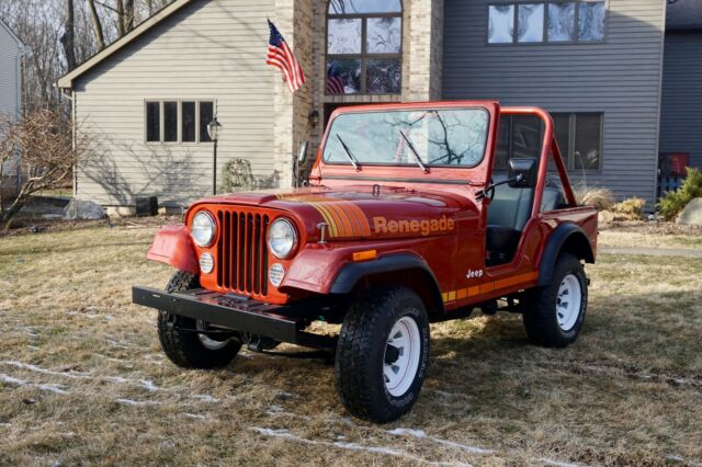 1979 Jeep CJ (Red/Black)