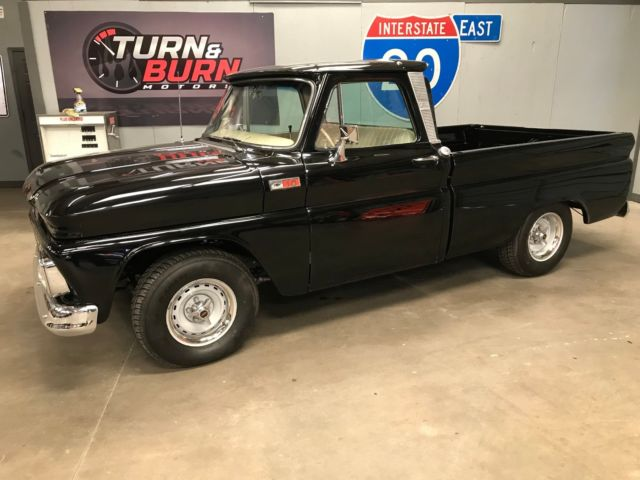1966 Chevrolet C-10 (Black/Tan)