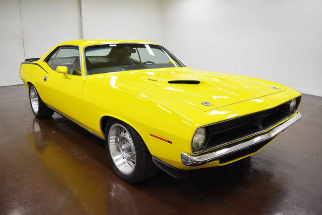 1970 Plymouth 'Cuda (Yellow/Black)