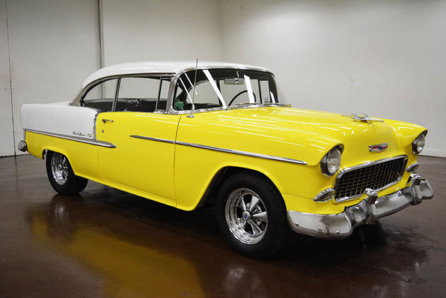 1955 Chevrolet Bel Air/150/210 (Yellow/Black)