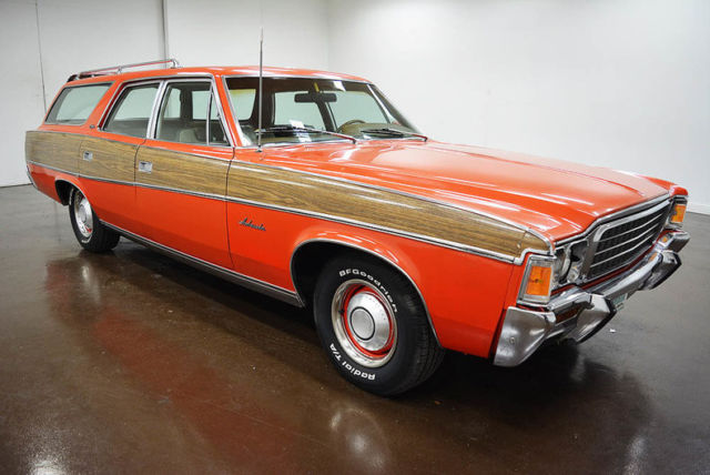 1972 AMC Ambassador Wagon (Orange/Tan)