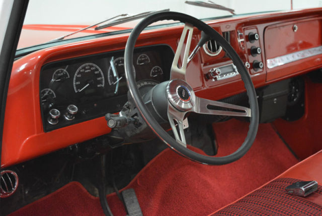1965 Chevrolet C-10 (Red/Red)