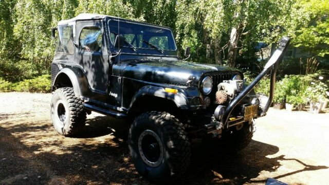 1977 Jeep CJ (Black/Black)