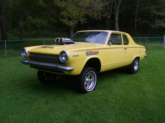1964 Dodge Dart (Yellow with Ram Charger Stripes/Tan Cloth Excellent Condition)
