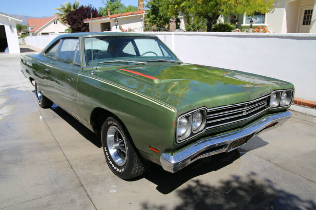 1969 Plymouth Road Runner (Green/Green)