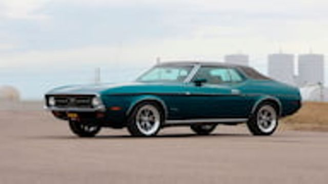 1972 Ford Mustang (Green/Brown)