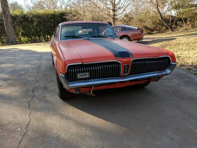 1967 Mercury Cougar (Orange/Black)
