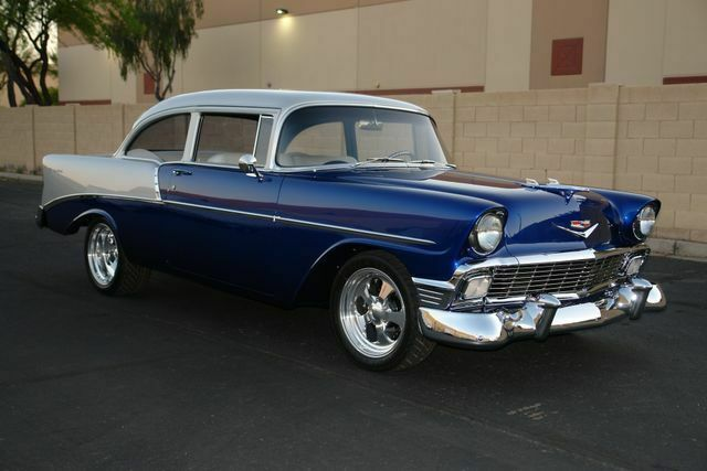 1956 Chevrolet Bel Air/150/210 (Blue/Gray)