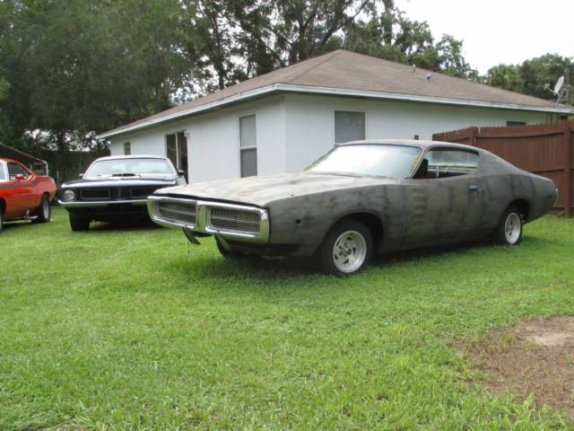 1972 Dodge Charger (Petty blue/white and black)