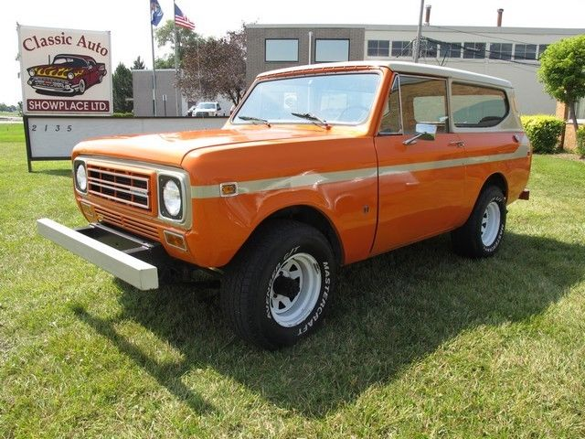 1977 INTERNATIO SCOUT II (Orange/--)