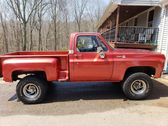 1979 Chevrolet C/K Pickup 1500 (Red/Black)
