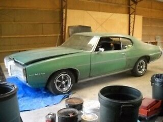 1969 Pontiac Le Mans (Lime Light Green/Green)