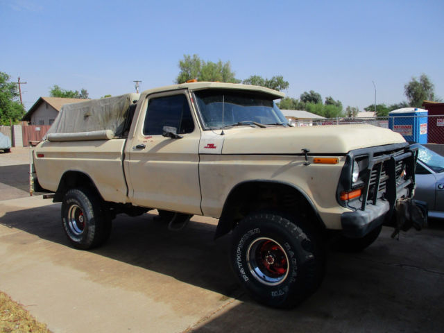 1978 Ford F-150 (Tan/Black)
