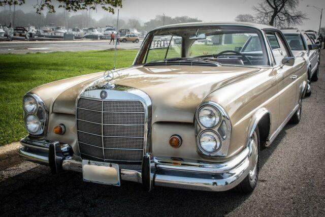 Seller Of Classic Cars 1965 Mercedes Benz 220se Tunis Beige Black