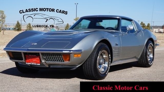 1972 Chevrolet Corvette (Silver/Black)
