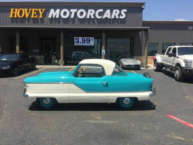 1959 Nash Metropolitan iv (White/Green)
