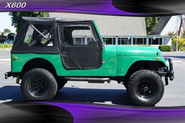 1977 Jeep CJ7 Restored (Green/Black)