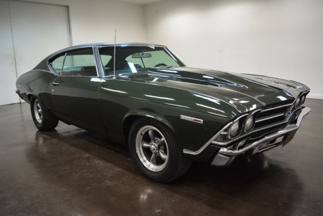 1969 Chevrolet Chevelle (Green/Black)
