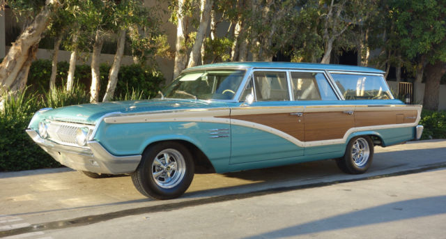 1964 Mercury Colony Park (Silver Turquoise/Black)