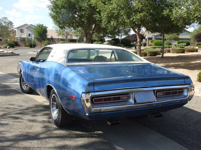 1972 Dodge Charger (Blue/White)