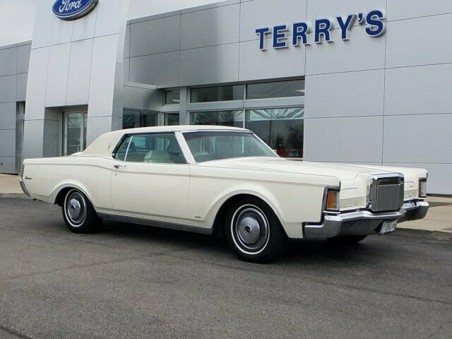1971 Lincoln Mark Iii (White/White)